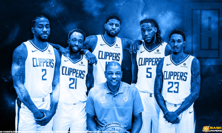 LA Clippers 2019 2560x1440 Wallpaper