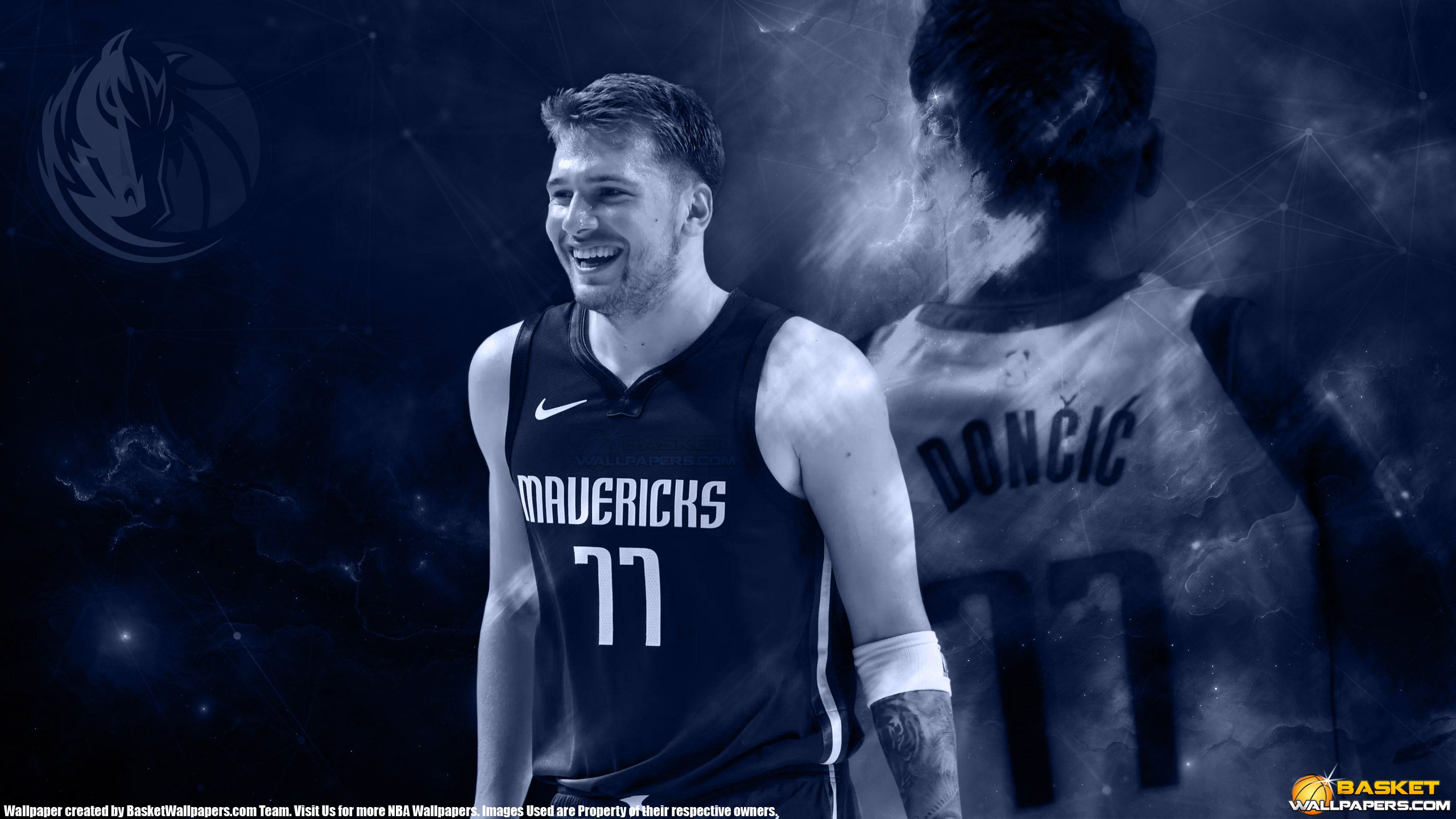 Luka Doncic Dallas Mavericks 2019 2560x1440 Wallpaper
