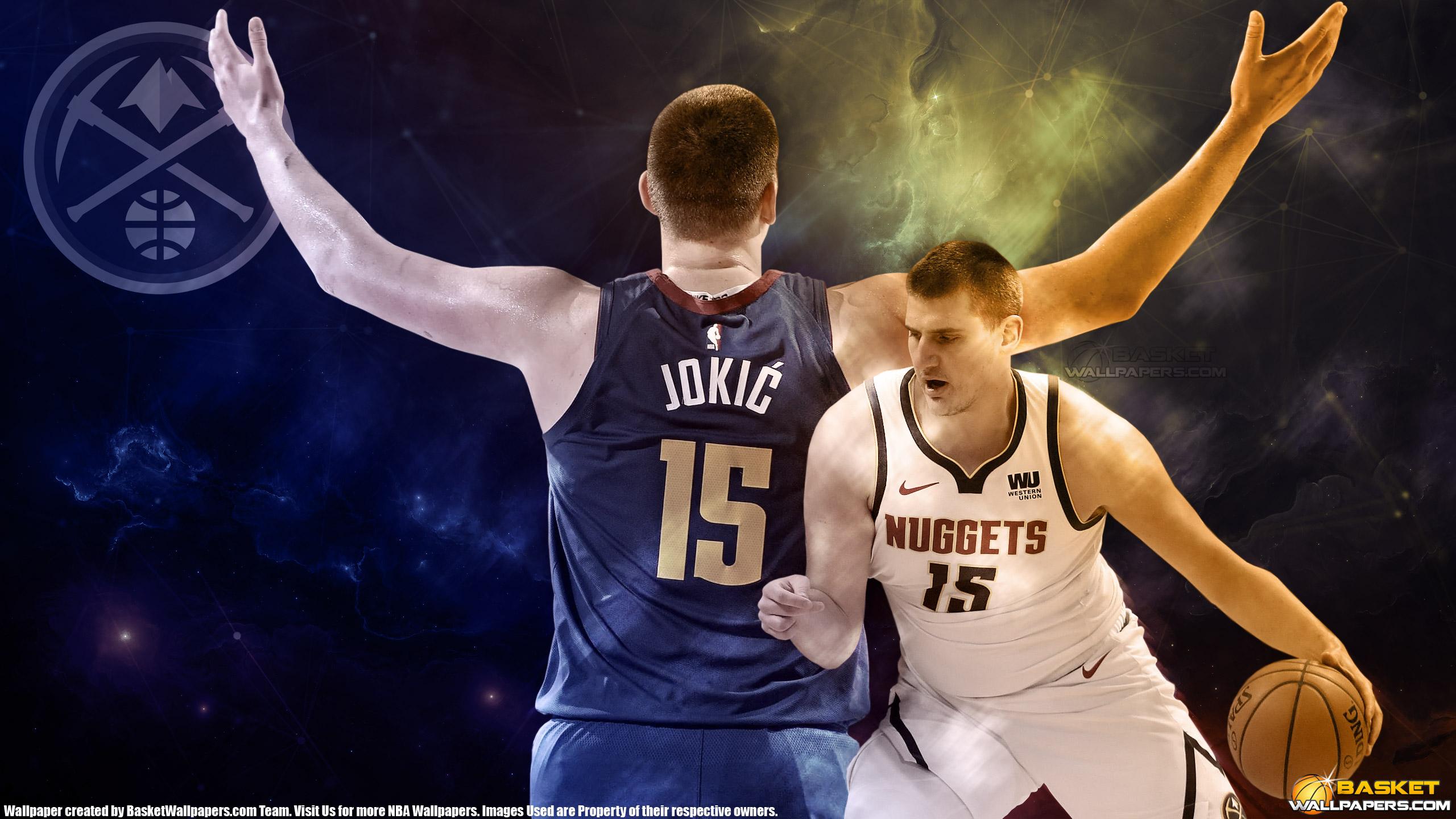 Nikola Jokic Denver Nuggets 2019 2560x1440 Wallpaper